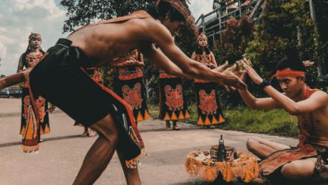 cerimônias espirituais com rapé