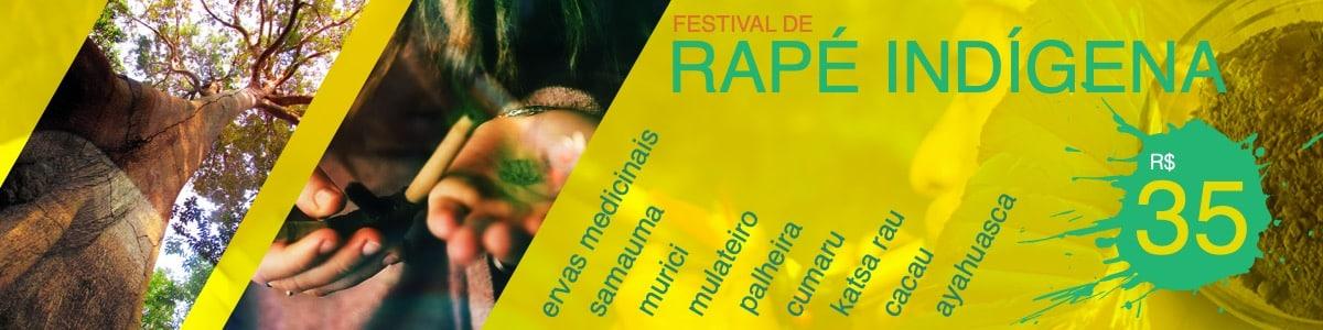 Festival de rapé indígena